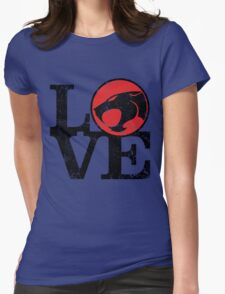 LOVE THUNDERCATS Womens Fitted T-Shirt