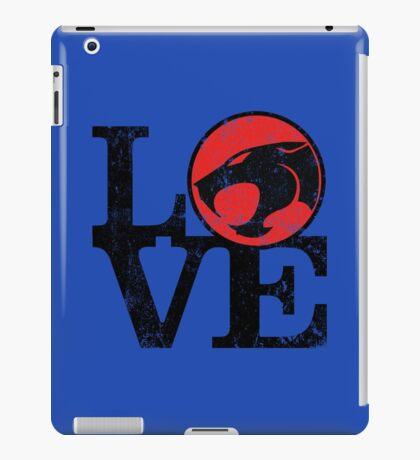 LOVE THUNDERCATS iPad Case/Skin