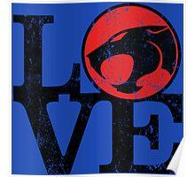 LOVE THUNDERCATS Poster