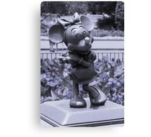 Minnie (Blue) Canvas Print