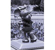 Minnie (Blue) Photographic Print