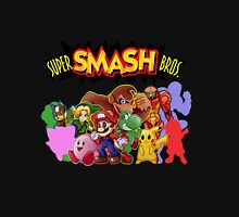 Super Smash Bros. 64 Secret Character Silhouettes  Unisex T-Shirt