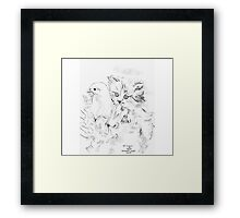 For love of the newly born, we wish they are choosen Framed Print