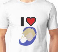 I <3 Link (Blue) Unisex T-Shirt