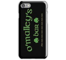 Nick Cave and the Bad Seeds – O'Malley's Bar iPhone Case/Skin
