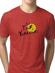 Le Tour de Yorkshire Tri-blend T-Shirt