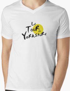Le Tour de Yorkshire Mens V-Neck T-Shirt