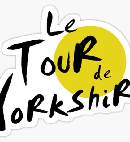 Le Tour de Yorkshire Sticker