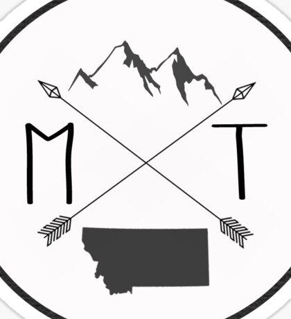 Montana is best - Version 1 Sticker