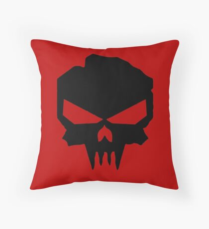 Dead and Burried Throw Pillow