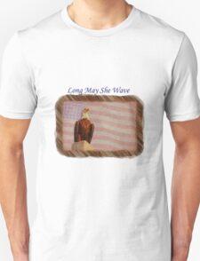 Long May She Wave Unisex T-Shirt