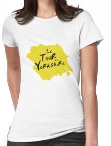 Le Tour de Yorkshire 2 Womens Fitted T-Shirt