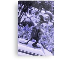 Donald (Blue) Metal Print