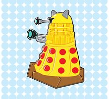 Pepperoni Pizza Dalek by NikoTrash