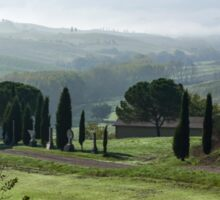 General view of Val d'orcia, Tuscany Sticker