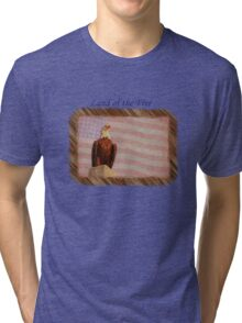 Land of the Free Tri-blend T-Shirt