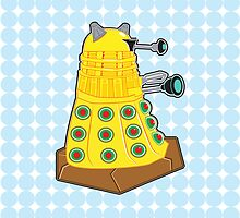 Green Olive Pizza Dalek by NikoTrash