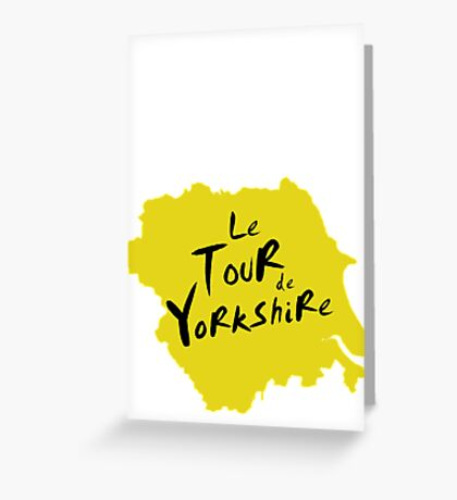 Le Tour de Yorkshire 2 Greeting Card