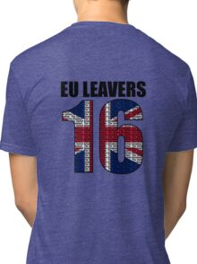 EU leavers design. Tri-blend T-Shirt