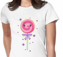 Niedlicher rosa Lolli Womens Fitted T-Shirt