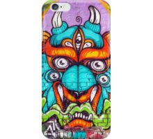 Graffiti Wall Art Tengu. iPhone Case/Skin