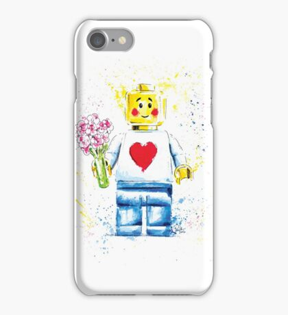 Say it with (Plastic) Flowers iPhone Case/Skin