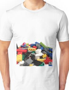 LEGO Bricks Pile Unisex T-Shirt