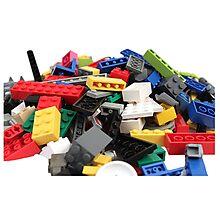 LEGO Bricks Pile Photographic Print