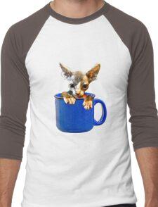 Cute kitty Men's Baseball ¾ T-Shirt
