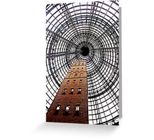 Melbourne Central Shot Tower 2 Greeting Card