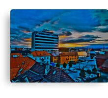 Sunrise over Stavanger, by Tim Constable Canvas Print