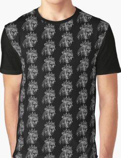 Black & White Cockerel  Graphic T-Shirt