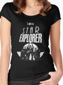 I Am A STAR EXPLORER Women's Fitted Scoop T-Shirt