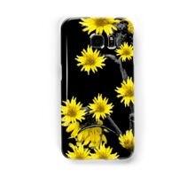 Sunflowers Over Black Samsung Galaxy Case/Skin