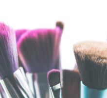 makeup brushes Sticker