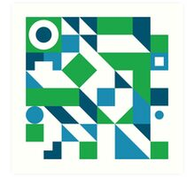 Arrange #001 Art Print