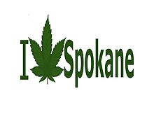 I Love Spokane by Ganjastan