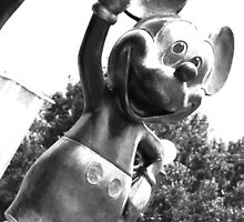 Mickey (Monochrome) by MFleming