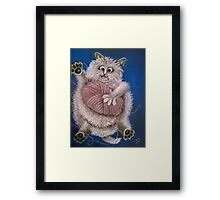 In A Tangle Framed Print