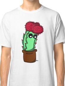 Cute Red Cactus Classic T-Shirt
