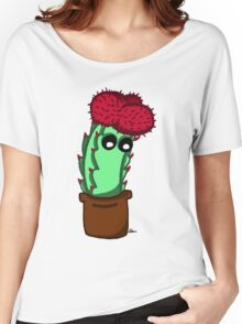 Cute Red Cactus Women's Relaxed Fit T-Shirt