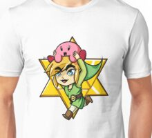 Super Smash Bros. - Toon Link and Kirby Unisex T-Shirt