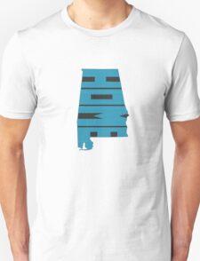 Alabama HOME state design T-Shirt