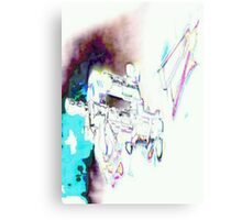 Halo - Vortex of Colour Canvas Print