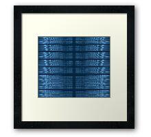 Justin Bieber Love Yourself Spectrogram Framed Print