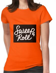 Sweep&Roll Womens Fitted T-Shirt
