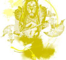 Ajani Goldmane by irradish