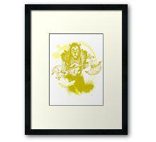 Ajani Goldmane Framed Print