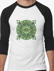 Green punch Men's Baseball ¾ T-Shirt