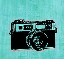 old fashion camera by Audrey Metcalf